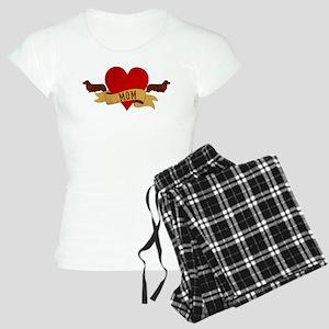 Dachshund [Doxie] Mom Women's Light Pajamas